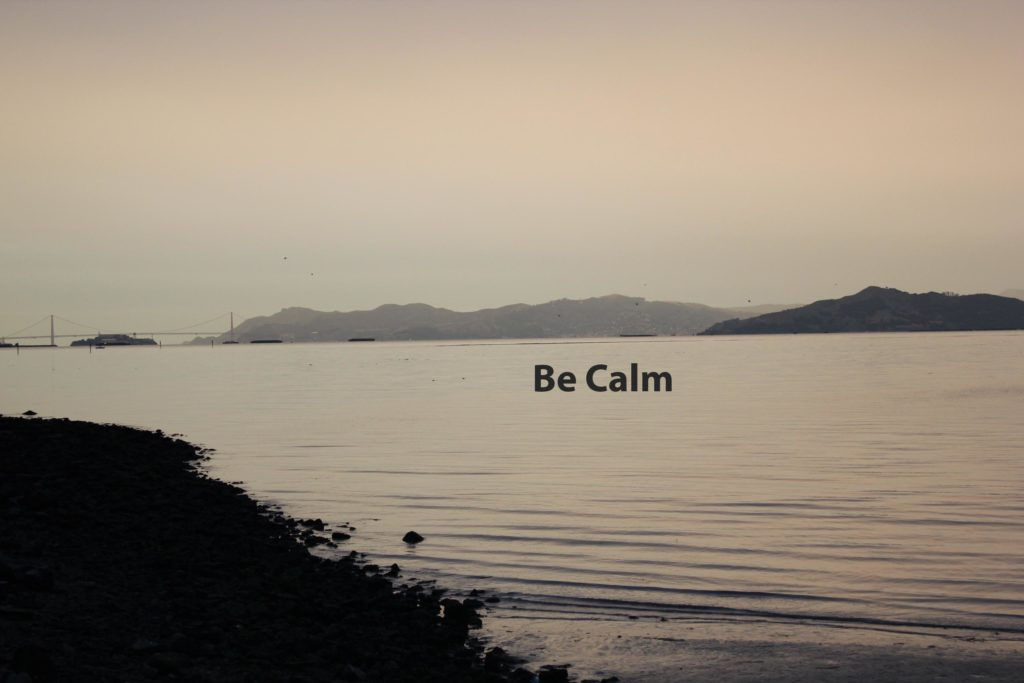 Be Calm by Michele Molitor