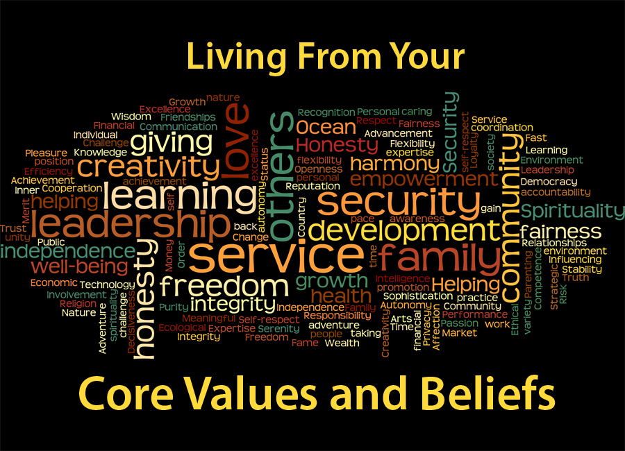 Honoring Your Values are the Key to Success