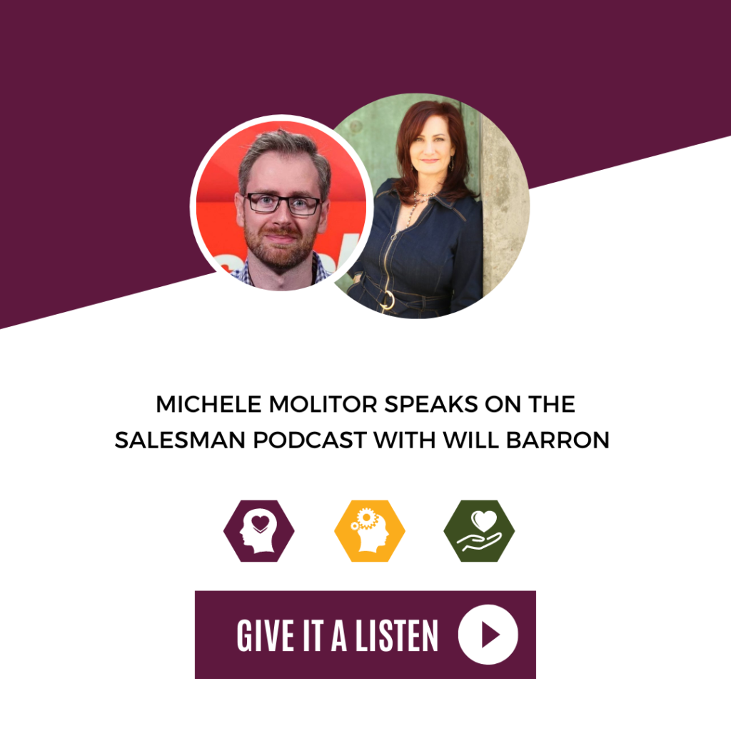Break Through Impostor Syndrome In Your Sales Job With Michele Molitor